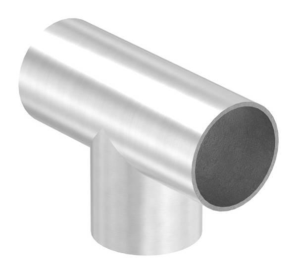 T-Stück zum Schweißen für Rundrohr Ø 48,3 mm V2A