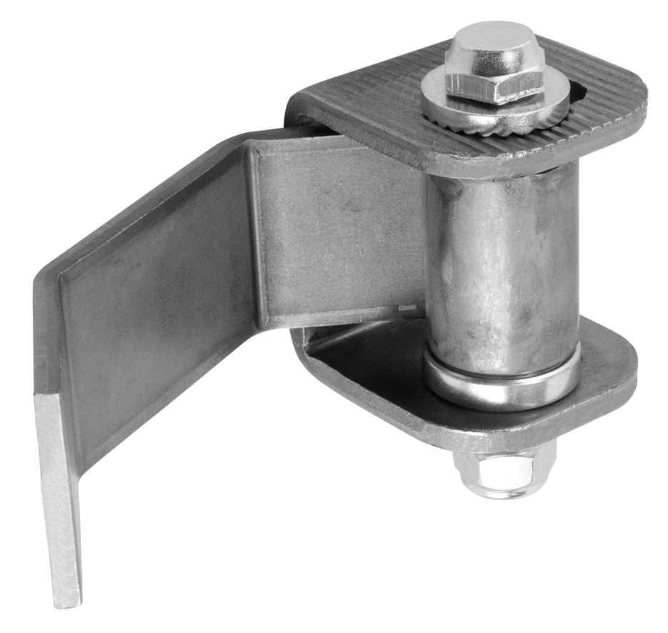 Torband | verstellbar | zum Anschweißen (Klein) | Stahl (Roh) S235JR