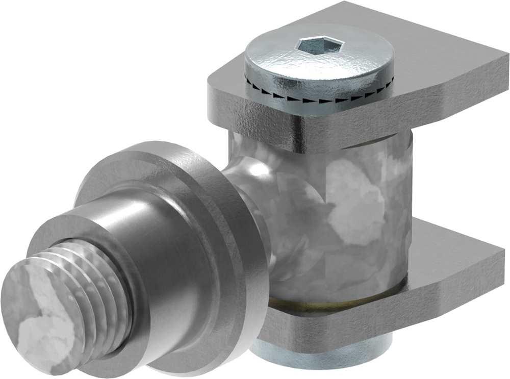 Torband M18 | verstellbar | schweißbar | Stahl (roh) S235JR