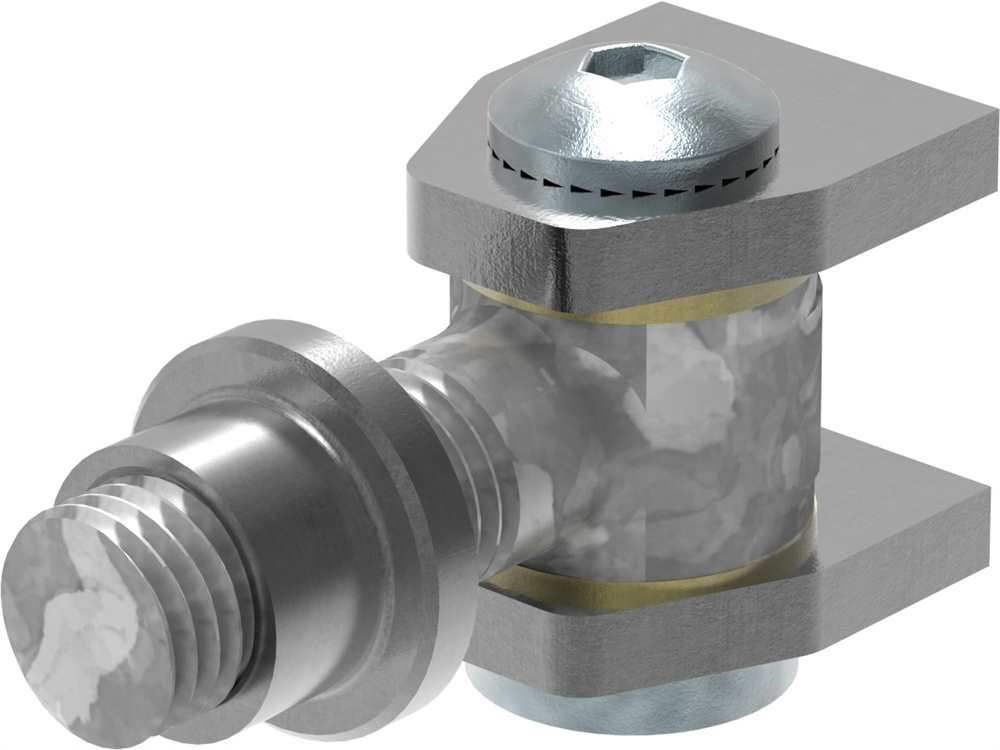 Torband M22 | verstellbar | schweißbar | Stahl (roh) S235JR