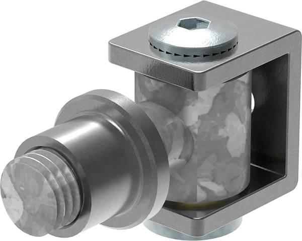 Torband M24 | verstellbar | schweißbar | Stahl (roh) S235JR