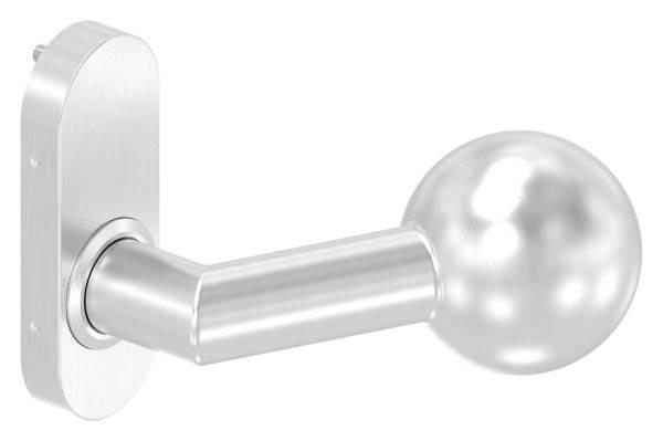 Türdrücker gekröpft mit Kugel Ø 50 mm feststehen V