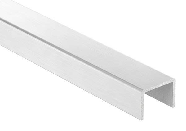 U-Profil | Maße: 28x20x2 mm | Länge: 6000 mm | Aluminium elox. E4/EV1