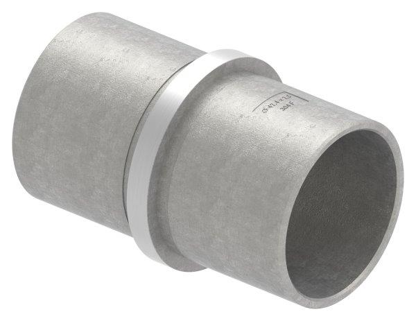 Verbinder für Rundrohr Ø 42,4x2,6 mm V2A
