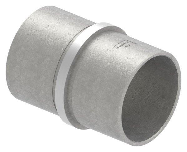 Verbinder für Rundrohr Ø 48,3x2,0 mm V2A
