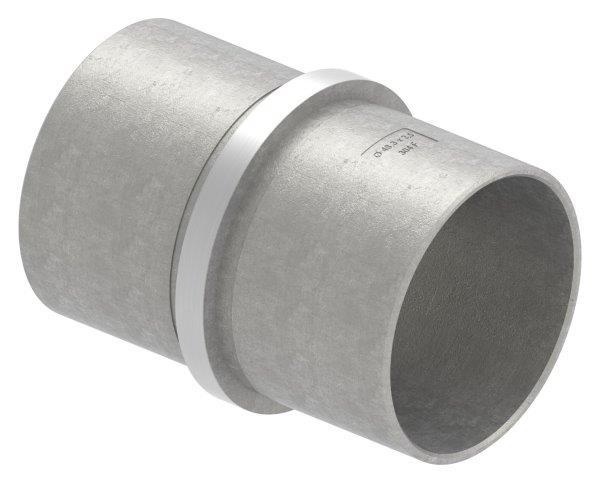 Verbinder für Rundrohr Ø 48,3x2,6 mm V2A