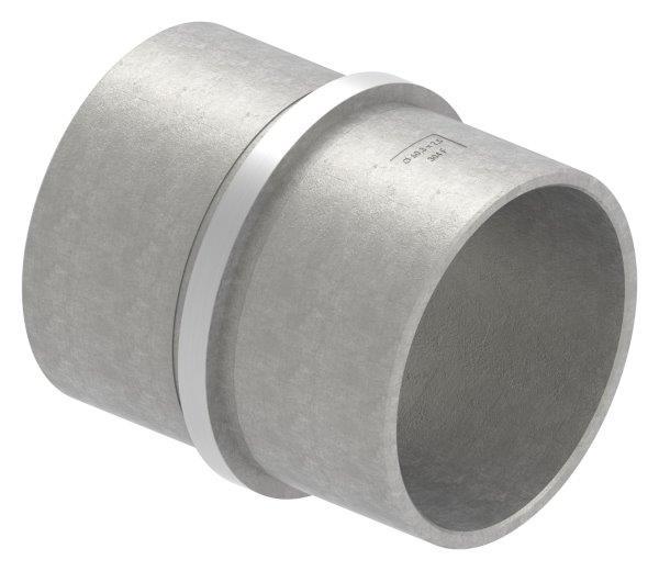 Verbinder für Rundrohr Ø 60,3x2,5 mm V2A