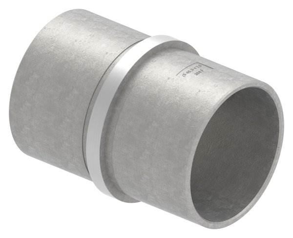 Verbinder für Rundrohr | Maße: Ø 48,3x2,0 mm | V2A