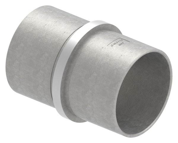 Verbinder für Rundrohr | Maße: Ø 48,3x2,6 mm | V2A