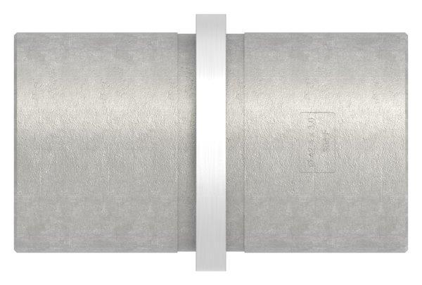 Verbinder kurz für Rundrohr Ø 42,4x3,0 mm V2A