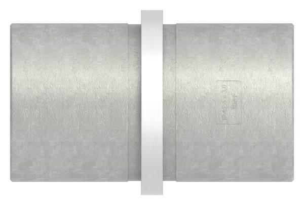 Verbinder kurz für Rundrohr | Maße: Ø 42,4x3,0 mm | V2A