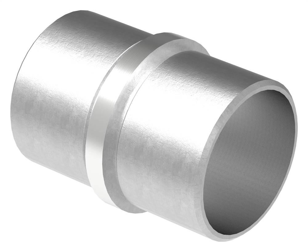 Verbinder lang für Rundrohr | Maße: Ø 42,4x2,0 mm | V2A