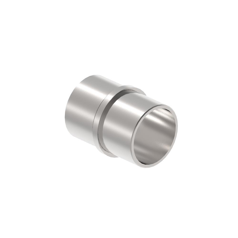 Verbinder Muffe für Rundrohr Ø 42,4x2,0 mm V2A