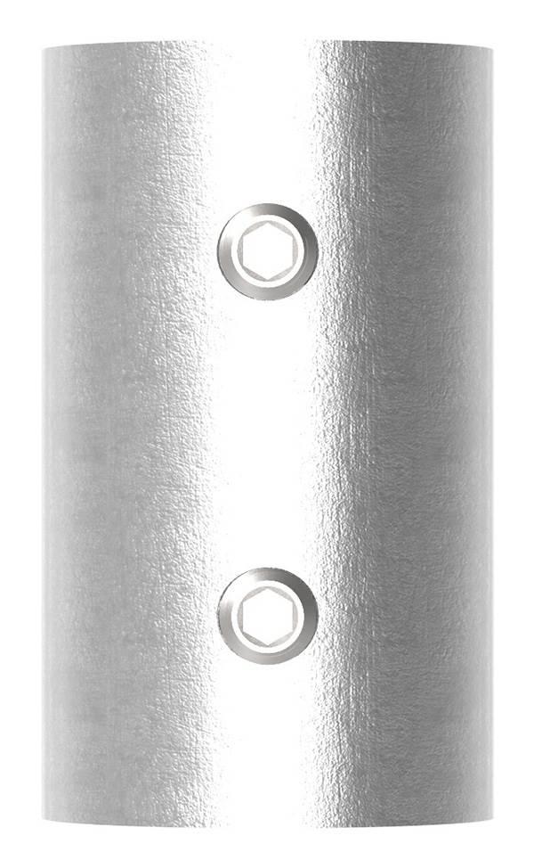 Verbindungshülse für Rundrohr Ø 42,4x2,0 mm V2A