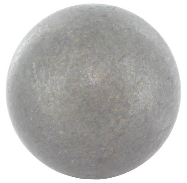 Vollkugel Ø 15 mm | massiv glatt | geschmiedet | Stahl S235JR, roh