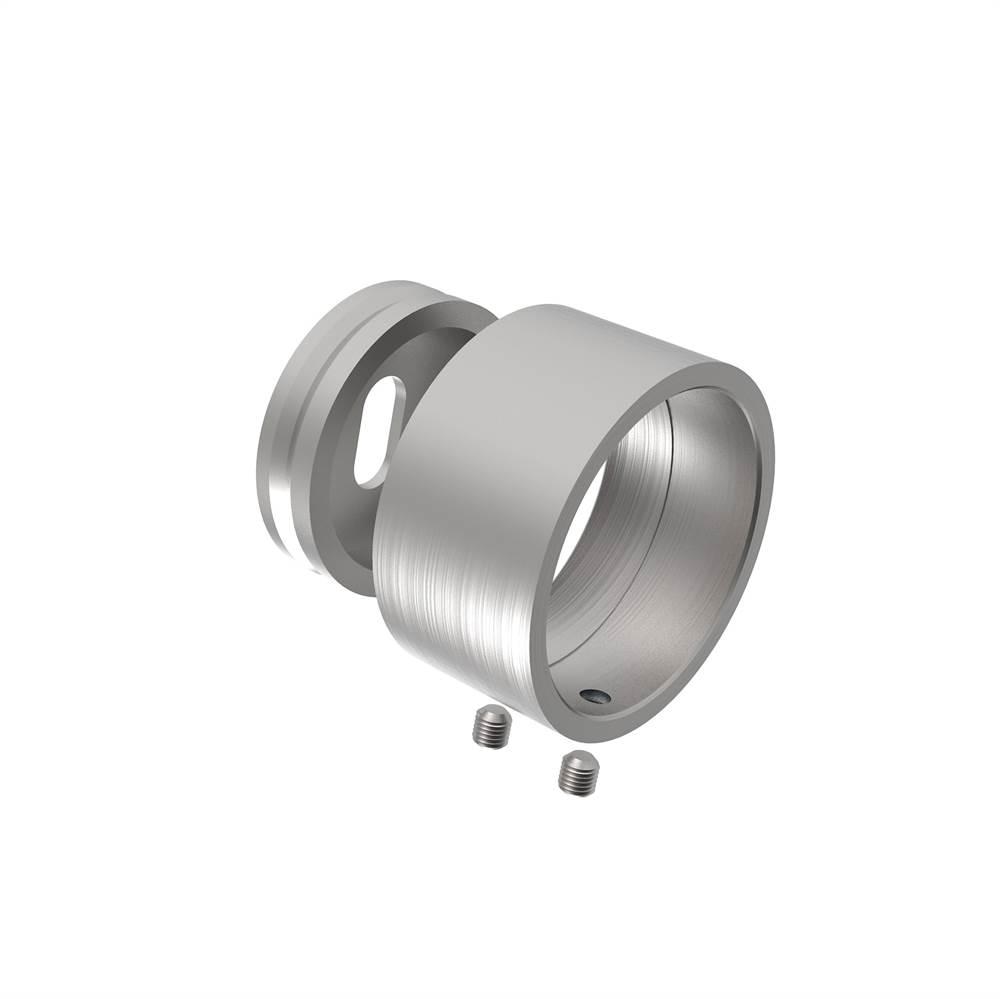 Wandanschluss für Rundrohr Ø 42,4 mm V2A