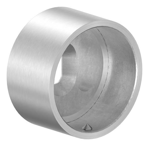 Wandanschluss für Rundrohr Ø 48,3 mm aus V2A