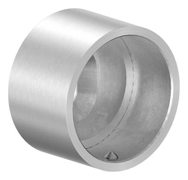 Wandanschluss V2A für Rundrohr Ø 42,4 mm