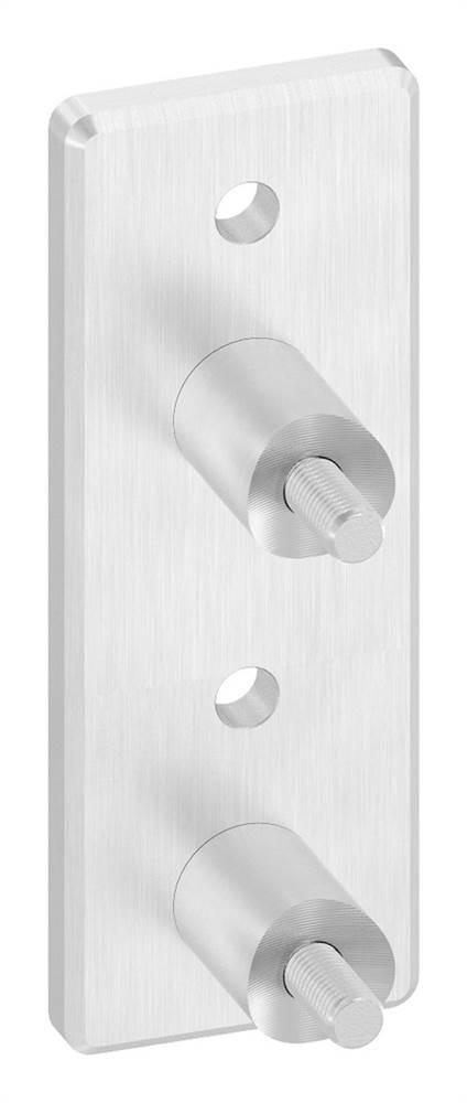Wandhalter für Rundrohr Ø 42,4 mm V2A