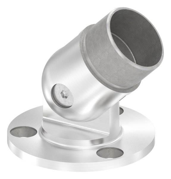 Wandhalterung flexibel, für Rundrohr Ø 48,3x2,0 mm V2A