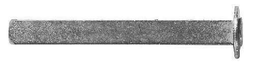 Wechselstift | Länge: 70 mm | Maße: 8x8 mm | Stahl S235JR, verzinkt