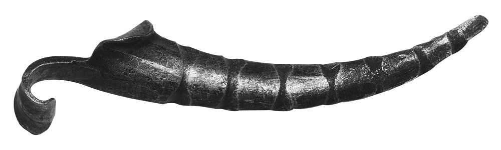 Schwerbarock | Maße: 50x220 mm | Material: 5 mm | Stahl S235JR, roh