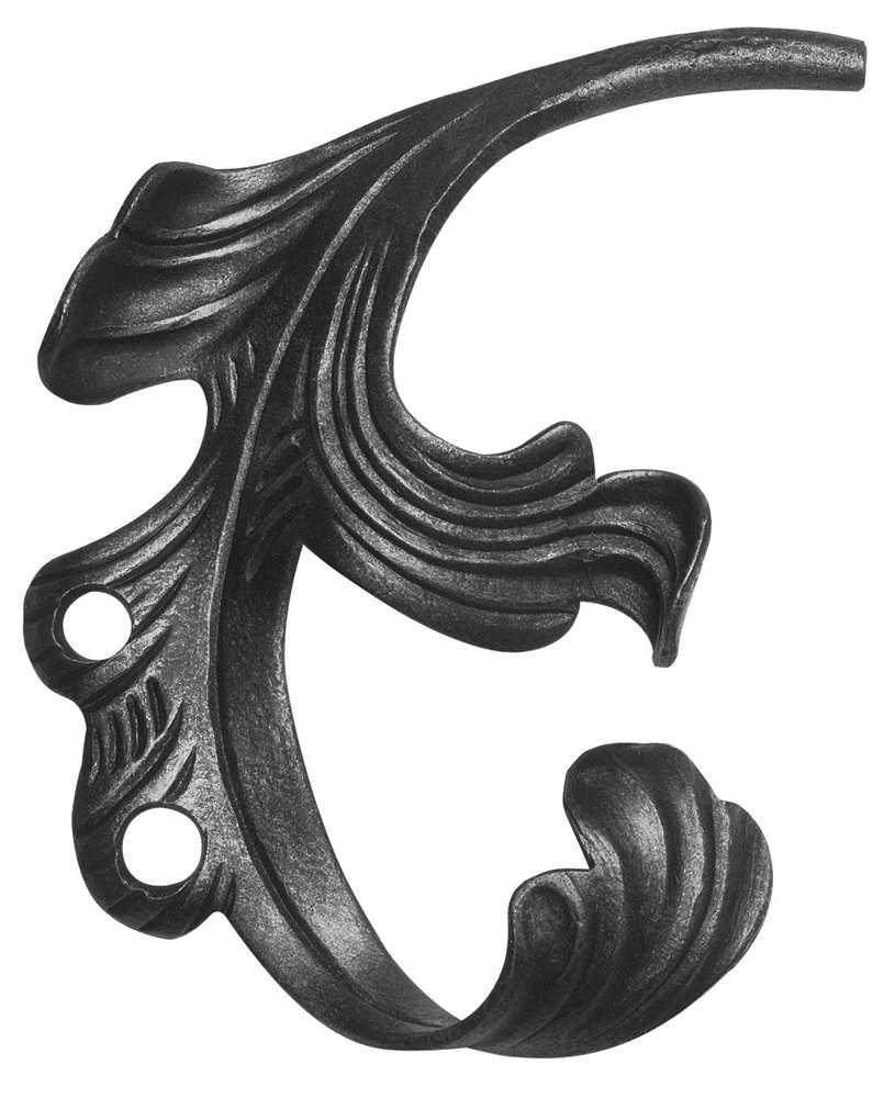 Ländliches Barock | Maße: 200x140 mm | Stahl S235JR, roh
