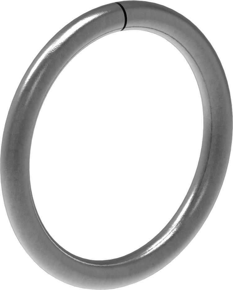 Ring | Material: 12 mm | Außen-Ø: 110 mm | Stahl S235JR, roh