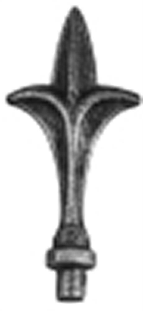 Zaunspitze | Höhe: 125 mm | Material: Ø 12 mm | Stahl S235JR, roh