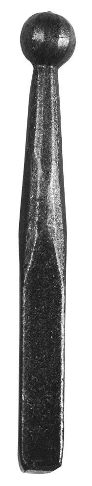 Zaunspitze | Höhe 150 mm | Material: 12x12 mm | Stahl S235JR, roh