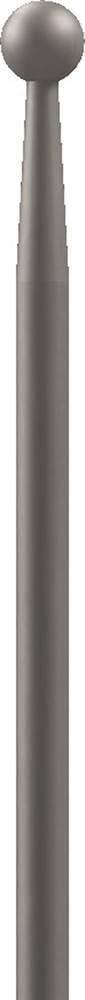 Zaunstab | Länge: 520 mm | Material Ø 12 mm + Kugel Ø 19 mm | Stahl S235JR, roh