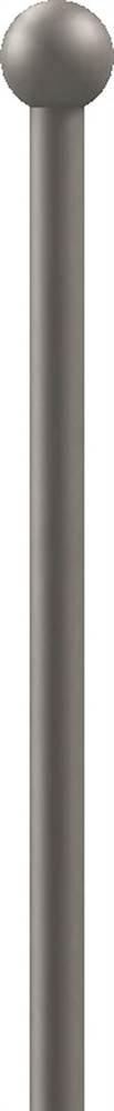 Zaunstab | Länge: 600 mm | Material Ø 12 mm + Kugel Ø 25 mm | Stahl S235JR, roh