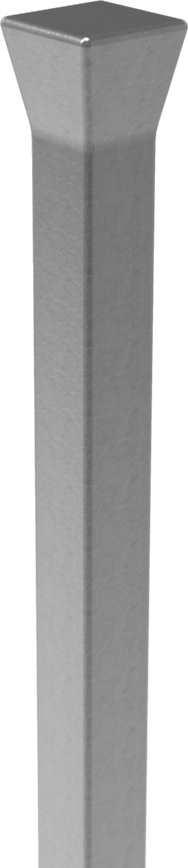 Zaunstab | Länge: 1000 mm | Material 12x12 mm + gestauchter Kopf | Stahl S235JR, roh