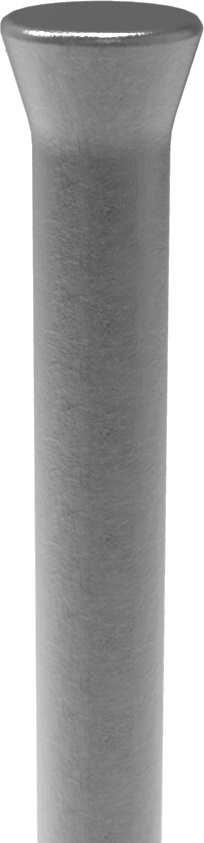 Zaunstab | Länge: 1200 mm | Material Ø 12 mm + gestauchter Kopf | Stahl S235JR, roh