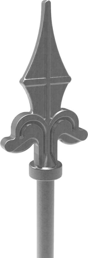Zaunstab | Länge: 1200 mm | Material Ø 12 mm + Spitze | Stahl S235JR, roh