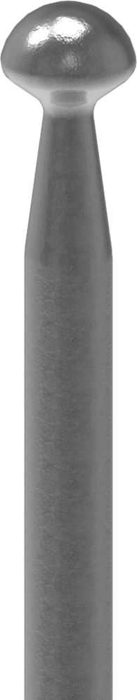 Zaunstab | Länge: 1100 mm | Material Ø 12 mm | Stahl S235JR, roh