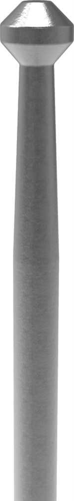 Zaunstab | Länge: 120 mm | Material Ø 12 mm | Stahl S235JR, roh