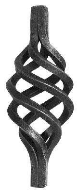 Zirbel | Maße: 160x65 mm | Material: 8x8 mm | Stahl (Roh) S235JR