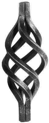 Zirbel | Maße: 240x90 mm | Material: 10x10 mm | Stahl (Roh) S235JR
