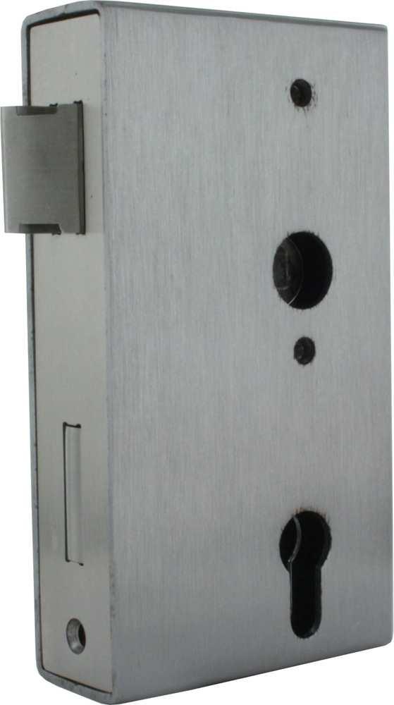 Kastenschloss   Kastenbreite: 60 mm   Stahl S235JR, roh