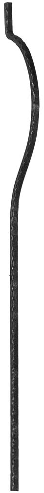 Bauchstab | Länge: 1500 mm | Material: 20x20 mm | Stahl S235JR, roh