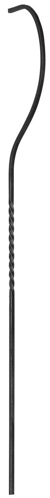 Bauchstab | Länge: 1500 mm | Material: 12x12 mm | Stahl S235JR, roh