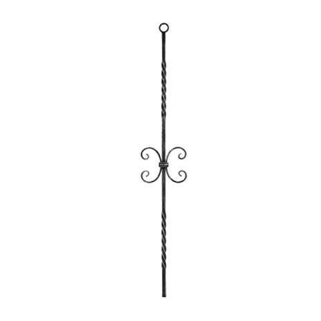 Zierstab | Länge: 900 mm | Material: 12x12mm | glatt | Stahl (Roh) S235JR